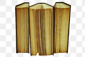 Yellow Old Book - Used Book Paper PNG