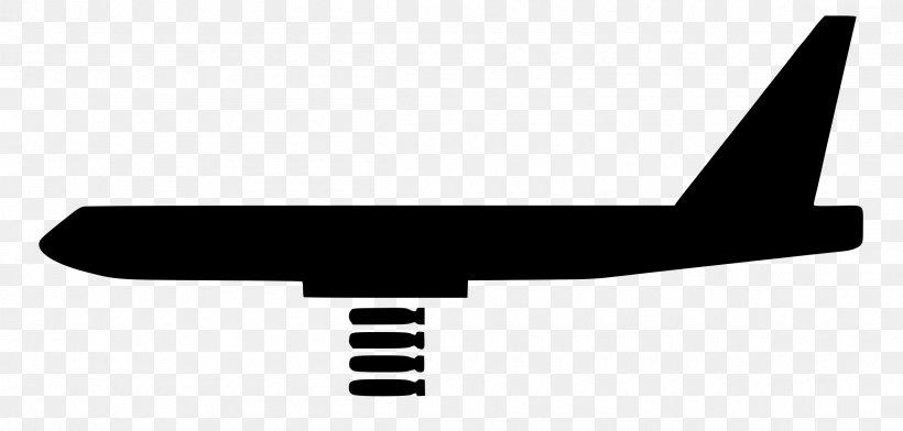 Northrop Grumman B-2 Spirit Airplane Boeing B-52 Stratofortress Bomber, PNG, 2400x1150px, Northrop Grumman B2 Spirit, Air Force, Aircraft, Airplane, Black Download Free
