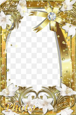 Gold Frame - Gold Icon PNG