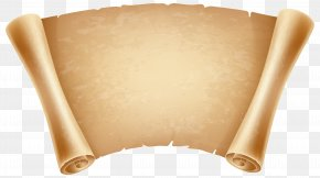 Papyrus Decorative Clipart Image - Papyrus Scroll Icon Clip Art PNG