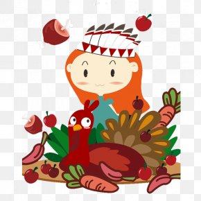 Thanksgiving Cartoon Creative - Turkey Thanksgiving Clip Art PNG