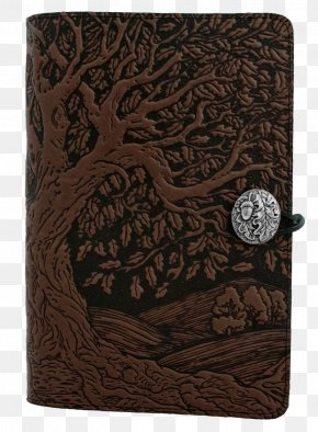 Notebook - Notebook Paper Embossing Leather Tree PNG