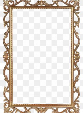 Classic Gold Photo Frame - United States Poster Texture PNG
