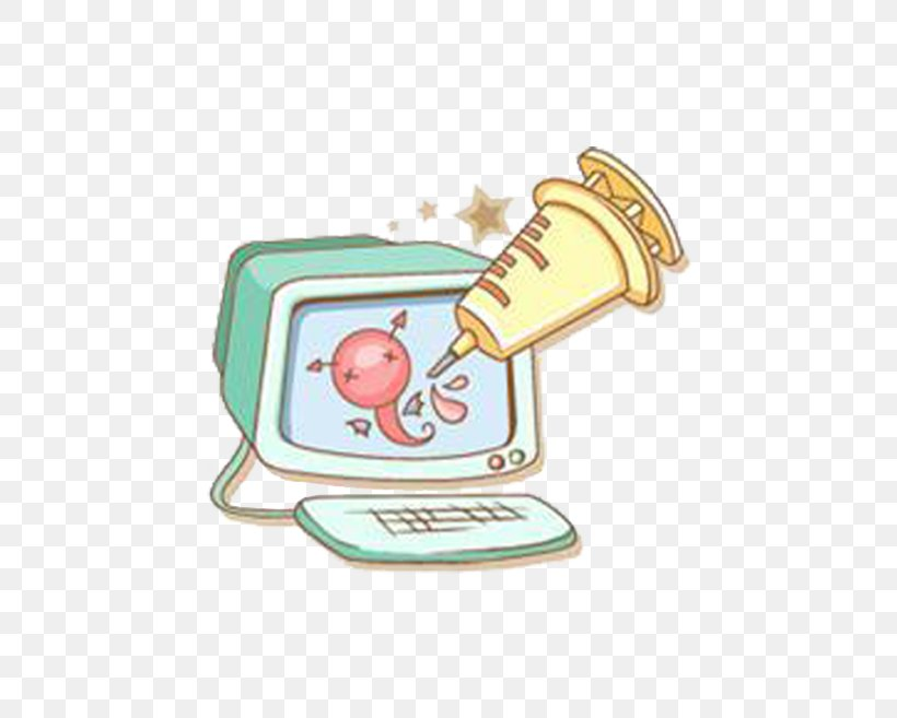 Computer Cartoon Illustration, PNG, 725x657px, Computer, Animation, Cartoon, Computer Font, Drawing Download Free