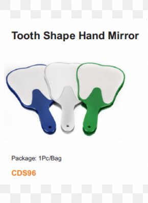 Mirror - Human Tooth Dentistry Mirror PNG
