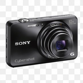 Sony Digital Camera Image - Point-and-shoot Camera Zoom Lens Active Pixel Sensor Sony PNG
