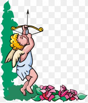 Archery Cupid - Cupid Love Clip Art PNG