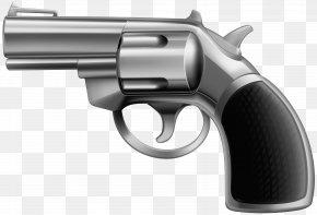 Gun Clip Art Image - Revolver Trigger Gun Barrel Air Gun Firearm PNG