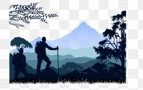 Backpackers Mountaineering - Mountaineering Euclidean Vector Rock Climbing PNG