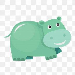 Hippo - Hippopotamus Sticker Clip Art PNG