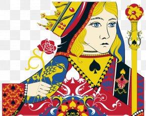 Reina - Spanish Playing Cards Card Game Spades PNG