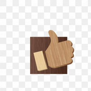 Wood Point Like Button - Download Facebook Icon PNG