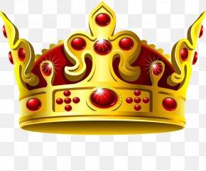 Gorgeous Crown - Crown Of Queen Elizabeth The Queen Mother Gold Clip Art PNG