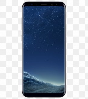 Galaxy S8 - Samsung Galaxy S8+ Telephone Android Midnight Black PNG
