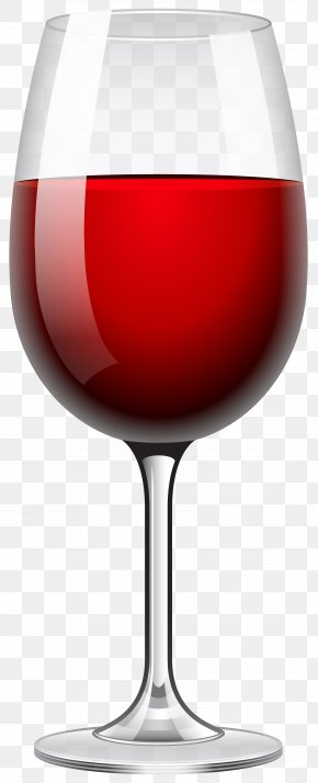 Red Wine Glass Transparent Clip Art Image - Red Wine White Wine Champagne Wine Glass PNG