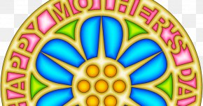Mother's Day - Mother's Day Mandala Drawing PNG