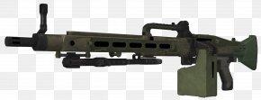 Machine Gun - Call Of Duty: Ghosts Weapon Firearm CETME Ameli M4 Carbine PNG