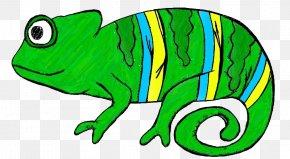 Desert Cliparts - Chameleons Lizard Reptile Clip Art PNG