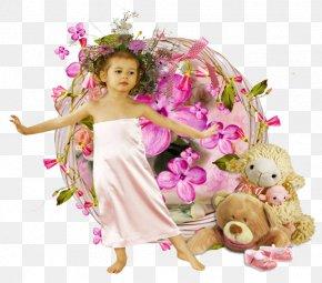 Child - Child Painting Doll Floral Design Lastekaitsepäev PNG