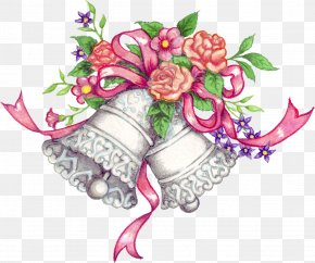 Bell Design Cliparts - Wedding Invitation Marriage Clip Art PNG