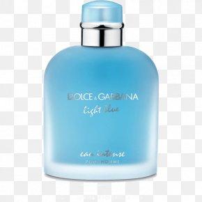 Perfume - Light Blue Perfume Dolce & Gabbana Eau De Toilette Note PNG