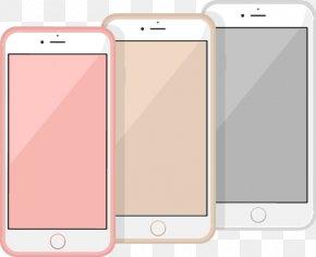 Vector Painted Phone - Feature Phone Smartphone Euclidean Vector Vecteur PNG