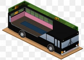 Bus - Habbo Bus Online Chat Anonymous Clip Art PNG