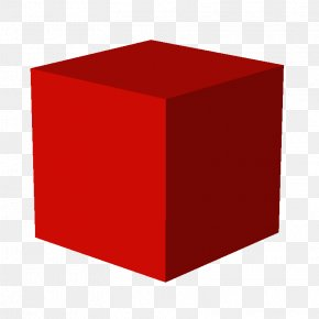 RED SHAPES - Cube Three-dimensional Space PNG