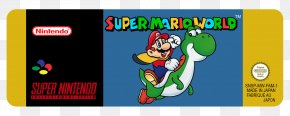Super Mario World - Super Mario World Yoshi's Island Super Mario Bros. 2 Super Mario All-Stars Super Nintendo Entertainment System PNG