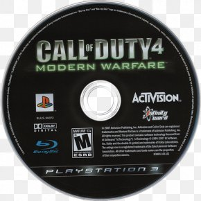 Call Of Duty Modern Warfare 3 - Call Of Duty 4: Modern Warfare Compact Disc Game Personal Computer Computer Hardware PNG