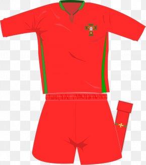 Portugal National Football Team - Kit T-shirt Portugal National Football Team Tracksuit Uniform PNG