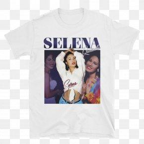 Selena Quintanilla - T-shirt Crew Neck Clothing Rhythm And Blues PNG