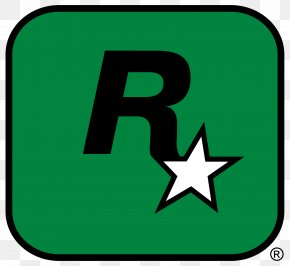 Star R Word Logo - Grand Theft Auto V Red Dead Redemption Grand Theft Auto: San Andreas L.A. Noire Rockstar Games PNG