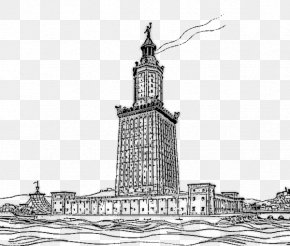Colossus Of Rhodes - Lighthouse Of Alexandria Library Of Alexandria Faros New7Wonders Of The World Colossus Of Rhodes PNG