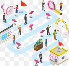 Performance Indicator Customer Relationship Management - Marketing Background PNG