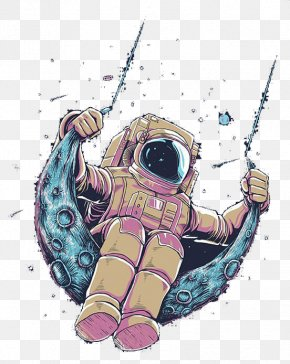 Astronaut - Visual Arts T-shirt Drawing Astronaut PNG