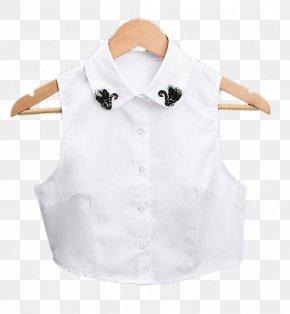Korean Decorative Neck Sweater False Collar Shirt Collar - Korea T-shirt Collar Sweater PNG
