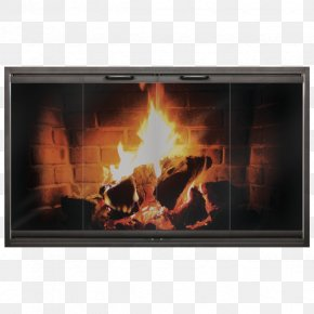 Chimney - Fireplace Insert Sliding Glass Door PNG