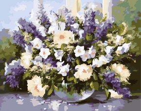 Lavender - Paint By Number Canvas Oil Paint Painting PNG