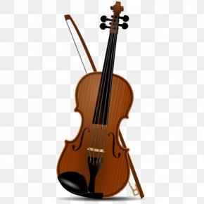 Violin - Clip Art Violin Viola Image Double Bass PNG