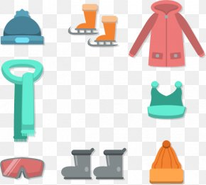 Warm Winter Travel Equipment - Winter Clothing Winter Clothing Euclidean Vector PNG