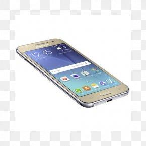 Samsung - Samsung Galaxy J2 Prime Android Gold Front-facing Camera PNG