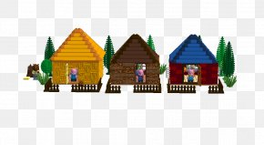 Three Little Pigs House - The Three Little Pigs Lego Ideas Toy PNG