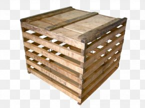 Free Wooden Box To Pull Material - Crate Box Pallet Wood PNG