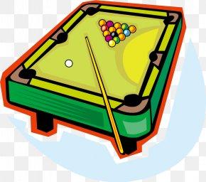 Cartoon Vector Billiard Tables - Billiard Table Pool Billiards Clip Art PNG