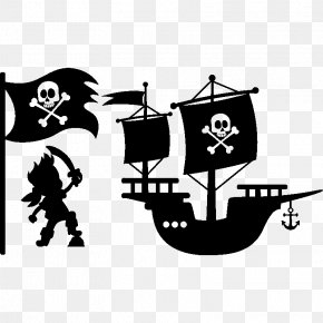 Bateau - Captain Hook Piracy Logo PNG
