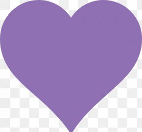Purple Shape Cliparts - Heart Purple Pattern PNG