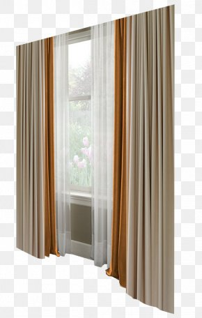 Window Curtains - Curtain Window Blind Bedroom PNG
