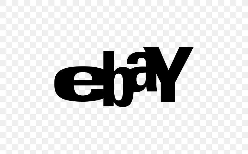 Ebay Logo White Online Shopping Png 512x512px Ebay Area Black And White Brand Logo Download Free
