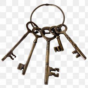Key - Key Antique Vintage Clothing Clip Art PNG
